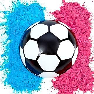 soccer ball gender reveal diy