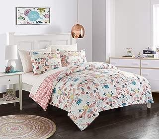 American Kids Llama Comforter Set, Full, Pink
