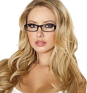 Cyberteez Sexy Women's Secretary Glasses Costume Accessory Black