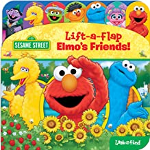 Sesame Street - Elmo, Big Bird, and More! - Lift-a-Flap Look and Find Activity Book - PI Kids