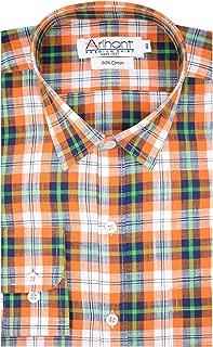 Arihant Checkered 100% Cotton Full Sleeve Regular Fit Formal Shirt for Men