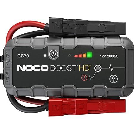 Noco Boost Hd Gb70 2000a 12v Ultrasafe Starthilfe Powerbank Tragbare Auto Batterie Booster Starthilfekabel Und Überbrückungskabel Für Bis Zu 8 Liter Benzin Und 6 Liter Dieselmotoren Auto