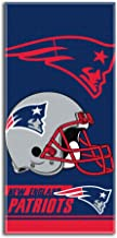 NFL New England Patriots Double Covered Beach Towel, 28 x 58-Inch