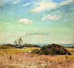 CHASE WILLIAM MERRITT SHINNECOCK HILLS LONG ISLAND ARTIST PAINTING OIL CANVA ART 18x20inch MUSEUM QUALITY
