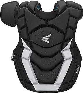 EASTON GAMETIME Baseball Catchers Chest Protector, 2021, Impact Absorbing AB Foam For Rebound Control, BIODRI Liner, 4 Poi...