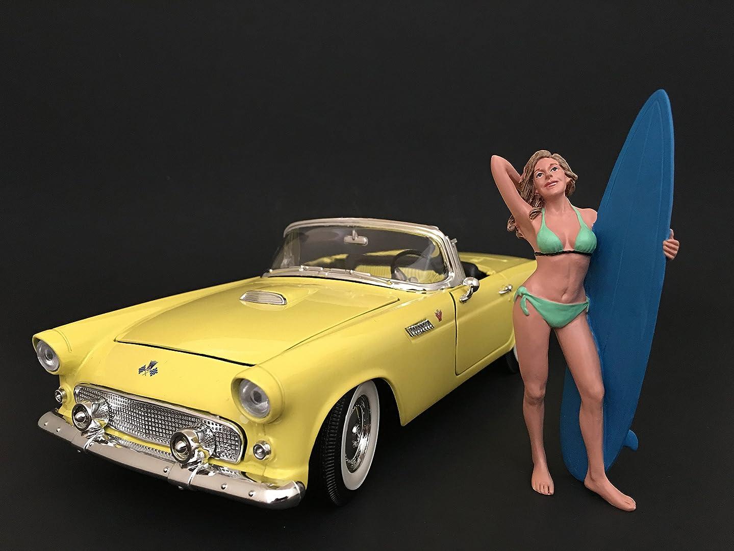 American Diorama 77440 Surfer Paris Figure For 1:18 Scale Models