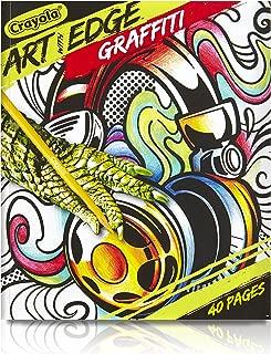 Crayola Art with Edge, Graffiti Adult Coloring Book