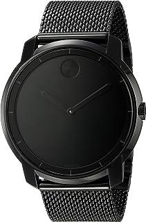 Movado Men's 3600261 Bold Analog Display Swiss Quartz Black Watch
