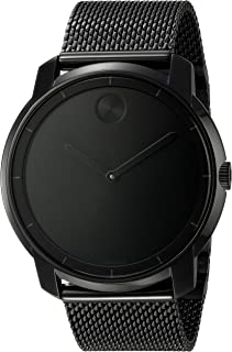 Movado Men's 3600261 Bold Analog Display Swiss Quartz Black Watch