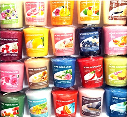 12 x candeline originali Yankee Candle fragranze rare assortite Home Inspiration