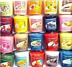 12 x candeline originali Yankee Candle fragranze rare assortite Home Inspiration