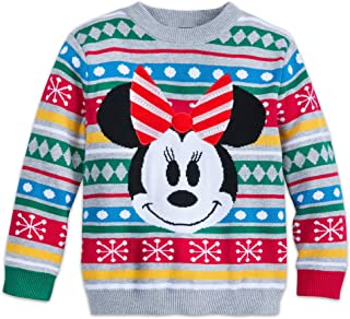 Minnie Mouse Family Holiday Sweater for Girls Multi