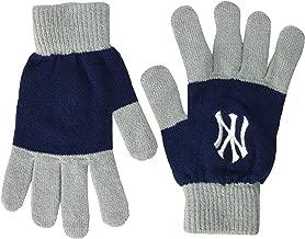 FOCO MLB Unisex Knit Colorblock Glove