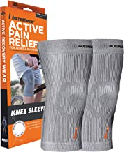 Sponsored Ad - Incrediwear Knee Sleeve, Anti-Inflammatory Recovery and Performance Wear for Men and Women, Grey, Large (Pa...