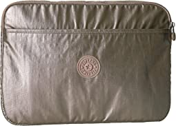 Kipling Laptop Sleeve 13 Metallic