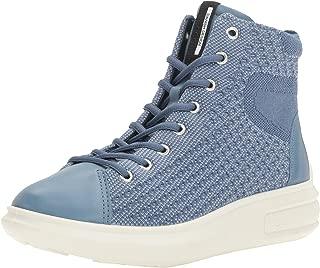 ECCO Women's Women's Soft 3 High Top Fashion Sneaker