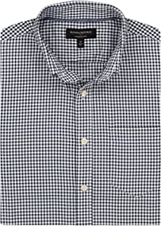 Men's Slim-Fit Untucked Oxford, Multiple Colors and Sizes