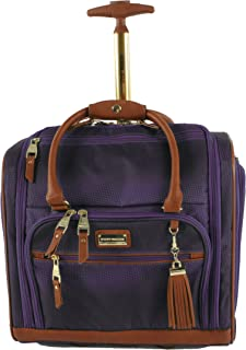 Steve Madden Luggage Wheeled Suitcase Under Seat Bag (Shadow Purple)