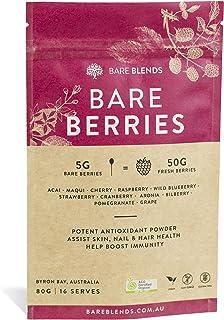 Bare Blends - Bare Berries | Organic Acai & Berries | ACO Certified Berry Powder | non-GMO | Gluten Free | 200g