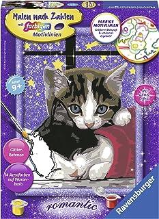 Ravensburger Malowanie według liczb 28561 – przytulne kotki – dla dzieci od 9 lat