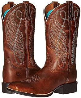 Wide Calf Cowboy Boots For Women, Women | Shipped Free at Zappos