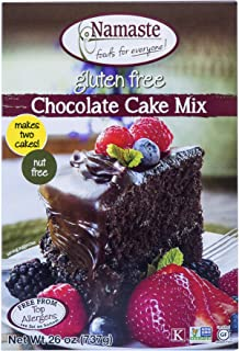 Namaste Foods, Gluten Free Chocolate Cake Mix, 26 oz (Pack of 6)