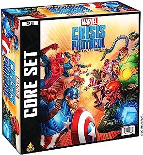 Atomic Mass CP01en Marvel Crisis Protocol Core Game