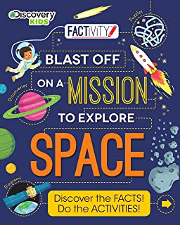 Discovery Kids Blast Off on a Mission to Explore Space (Factivity)