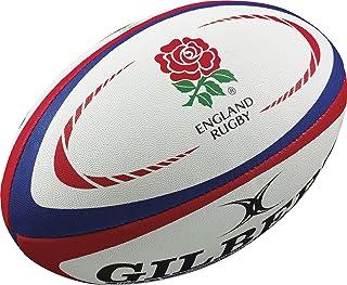 Gilbert England International Replica Rugby Ball – Size 5 –