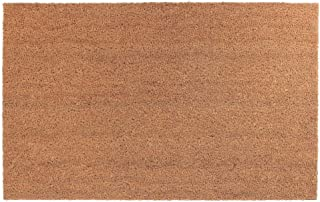 IH CASADECOR Plain Coir Door Mat (24 X 36), Brown