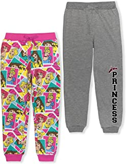 Princess Girl's 2-Piece Athletic Jogger Pants Set