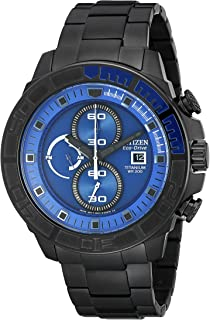 Citizen Men's CA0525-50L Eco-Drive Super Titanium Blue Dial Watch