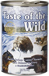 Taste of The Wild Pacific Stream Canine Dog Food Can 390grm IR