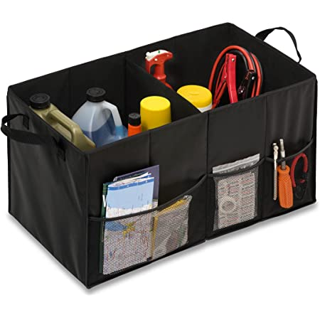 High Road CargoCube Trunk and Car Organizer Bins with Leakproof Lining Set of 2 Southwest