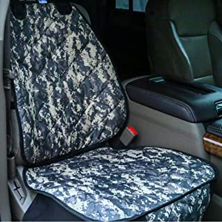 Plush Paws Products Waterproof Copilot Pet Seat Cover Set with Bonus Seat Belt Clip and Dog Harness