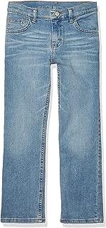 Wrangler Unisex-Child Authentics Boy's Slim Straight Stretch Jean Jeans - Blue