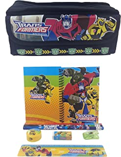 Disney Transformers Combo Stationary Set + Pencil Pouch