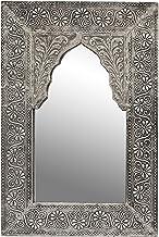 HomeZone Ensemble de 3 Shabby Chic Orn/é Argent D/écorative Marocain Mural Miroirs 3 Pi/èces Set Luxe Montage /à Suspendre Angoiss/é Parfait pour Maison