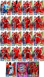 Match Attax Bundesliga 2015 2016 - Cromos de jugadores de FC Bayern München - juego de cromos en alemán