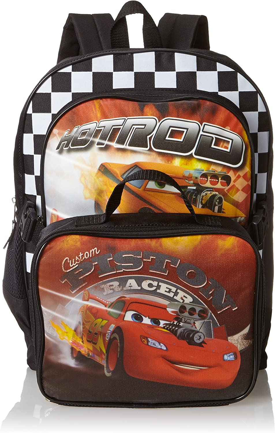 Disney Little Boys' Max 46% OFF Cars Backpack With Max 54% OFF Lunchbox