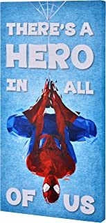 Edge home Products NCV3SP1-4 Spider-Man 12x24 'Hero' Inspirational Canvas