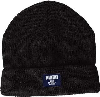 Unisex Adult Puma 21709 Beanie Hat Black, FR: one Size (Manufacturer Size: One Size)