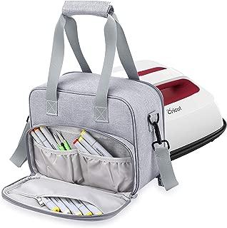 JARANIS Carrying Bag Compatible with Cricut Easy Press (6 x 7 inches), Tote Bag Compatible with Cricut Easy Press 2 (6 x 7 inches) and Supplies, Gray(Bag Only)