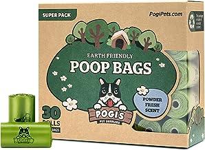 Pogi's Poop Bags - Bolsas para excremento de Perro - 30