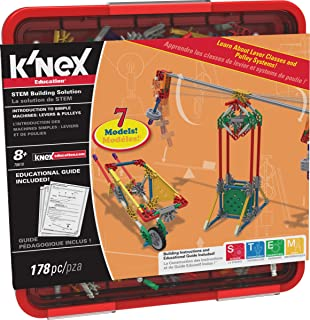 K'NEX Education – Intro to Simple Machines: Levers and Pulleys Set – 178..