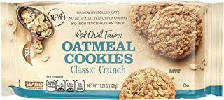 Red Oval Farms Oatmeal Cookies, Classic Crunch, 11.28 Oz