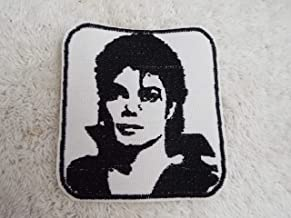 Michael Jackson Silhouette Embroidered Iron-on Patch