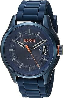 Best hugo boss watch blue rubber strap Reviews