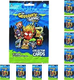 Moose Grossery Gang Season 1 Include 14 Collector Cards & 1 Figure 10 Blind Packs/Bags