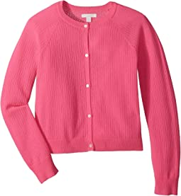 Flissey Fluro Cashmere Cardigan (Little Kids/Big Kids)